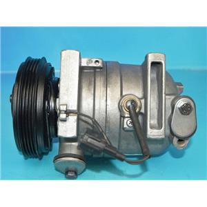AC Compressor Fits 2000-2001 Nissan Altima (One Year Warranty) Reman 67449
