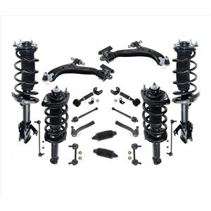 F & R Struts Control Arms Links 18 Pcs Kit for CR-V Front Wheel Drive 12-14