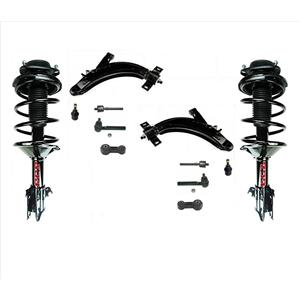 Front Complete Struts Control Arms 12 Pcs kit fits For 00-02 Subaru Legacy