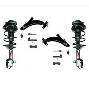 Frt Complete Struts Control Arms Kit fits For Subaru Forester 98-99 Automatic
