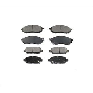 Front & Rear Ceramic Brake Pads 4Pc5 Replacement For 08-12 Infiniti EX35