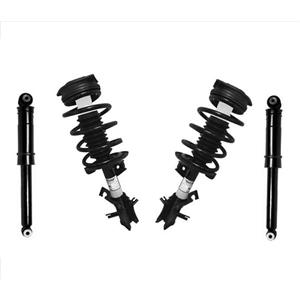 Fits 07-12 Sentra 2.0 W/ Automatic (2) Front Complete Struts & (2) Rear Shocks