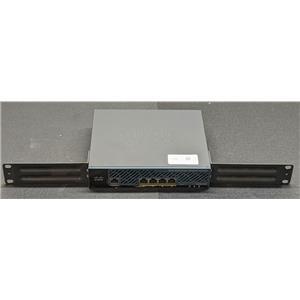 Cisco AIR-CT2504-K9 Wireless Controller NO POWER ADAPTER w/ Rack Ears