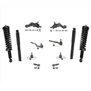 Front Struts Rear Shocks Ball Joints and Tie Rods for 95-03 Toyota Tacoma 4WD