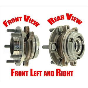 (2) Front Wheel Bearing Assembly For 08-12 Altima 2.5L REF OE 40202-JA010