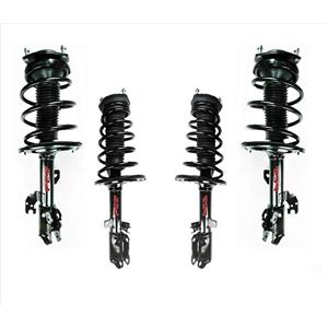 Fits For 10-12 Lexus ES350 F & R Complete Coil Spring Strut Assembly 4pc