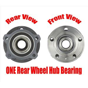 ONE REAR Wheel Hub Bearing for All Wheel Drive Only Volvo XC90 16-19 AWD