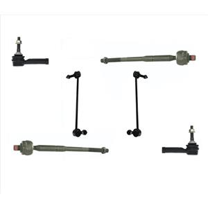 Inner Outer Tie Rods & Sway Bar Links For Ford Explorer 11-17