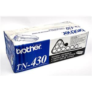 NEW Brother TN-430 Black Toner Cartridge Genuine OEM Factory Sealed