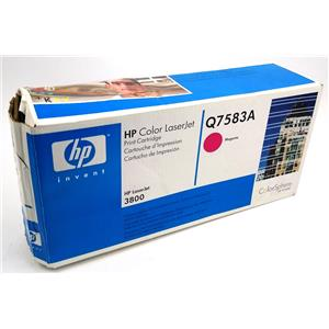 NEW Genuine HP Q7583A Magenta Toner Cartridge HP Color Laserjet 3800
