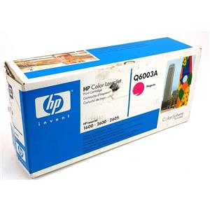 NEW Genuine HP Q6003A Magenta Toner Cartridge HP Color Laserjet 1600 2600 2605