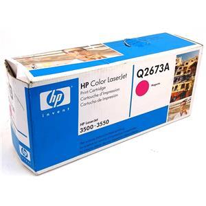 NEW Genuine HP Q2673A Magenta Toner Cartridge HP Color Laserjet 3500 3550