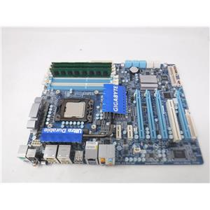 Combo GIGABYTE X58A-UD3R motherboard  w/i7-970 3.20 GHz/ 8 GB RAM
