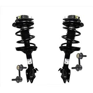 Front Coil Spring Strut Assembly + Stabilizer Links for 05-09 Subaru Outback