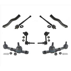 Inner & Outer Tie Rods Ball Joints & Links For GS350 GS430 Rear Wheel Drive Only