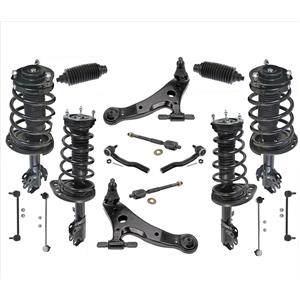 Front & Rear Struts w/ Control Arms Tie Rods + Links 18PCs for Toyota Camry 3.5L