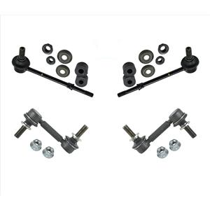 Front & Rear Sway Bar Links For Toyota Tacoma 05-13 Rear Wheel Drive