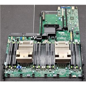 Dell PowerEdge R730 R730xd Server Motherboard 599V5 72T6D w/ 2x Heat Sinks