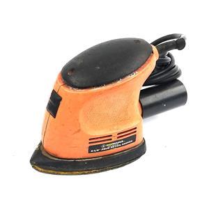 """Shopsource 5-1/2"""" Palm Detail Sander 0.8Amp 120V Orange TESTED & WORKING"""