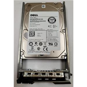 """Dell ST300MM0006 10K.6 300GB SAS 6.0Gb/s 10K 2.5"""" HDD PGHJG w/ R-Series Tray"""