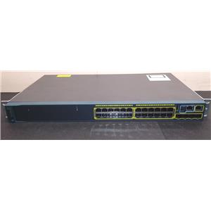 Cisco WS-C2960S-24TS-L V03 24 Port 4x SFP 10/100/1000 Managed Switch w/Rack Ears