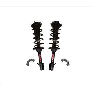 Rear Coil Spring Struts + Sway Bar Links for 04-07 Impreza Sedan All Wheel Drive