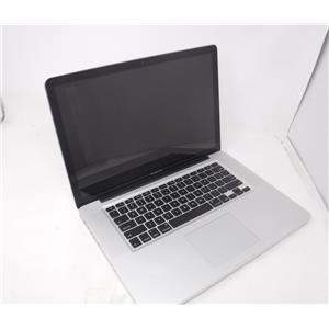 Apple MacBook Pro A1286 Late 2011 15.4' w/i7 2675QM 2.2 GHz 250 GB HDD 4GB RAM