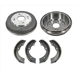Rear Brake Drums and Brake Shoes for Honda Accord 1990-2002