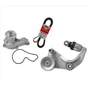 Engine Water Pump & Belt & Tensioner for Honda Civic 1.8L 2006-2011