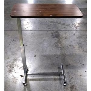 """RECYCLED - NK Medical Products Care Overbed Table with Spring Assisted Lift 15"""" x 30"""" Top"""