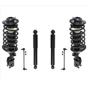 Fits 05-10 Chevrolet Cobalt Base Front Coil Spring Struts Shocks & Front Links