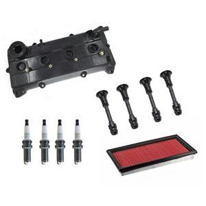 Valve Cover Gasket Kit Spark Plug & Coil Connectors for Nissan Altima 02-06 10pc