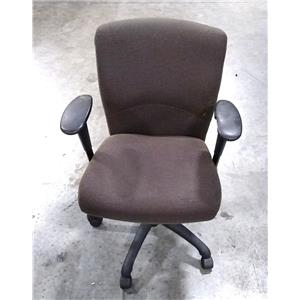 Arcadia Chair CA-30101 Steel Office Chair Brown  - LOCAL PICKUP ONLY