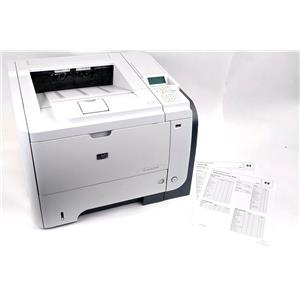 HP LaserJet Enterprise P3015 Workgroup Laser Printer - Page Count 57K - WORKING