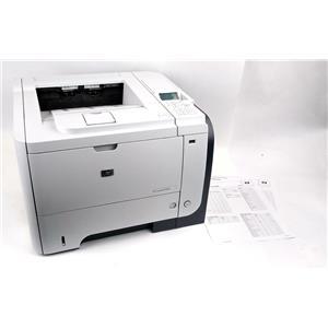 HP LaserJet Enterprise P3015 Workgroup Laser Printer - Page Count 76K - WORKING