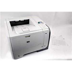 HP LaserJet Enterprise P3015 Workgroup Laser Printer - Page Count 18K - WORKING