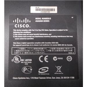 Refurbished Cisco ASA 5520 V03 Adaptive Security Appliance Firewall w/ Rack Ears