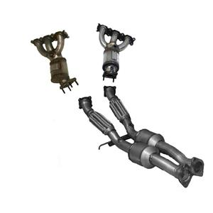For 07-10 Volvo XC90 3.2L Manifold Catalytic Converters & Rear Lower Converter