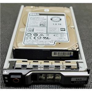 "Dell VJ7CD 1.8TB 10K 12Gb/s SAS 2.5"" HDD Seatgate ST1800MM0168 Gen 14 Tray"