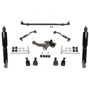 98-04 Frontier 4 Cly Rear Wheel Drive Ball Joints Tie Rods I arm Center Link 13p