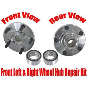Front Wheel Bearing With Hub Kits for Honda Accord 08-12 Acura TSX 09-14