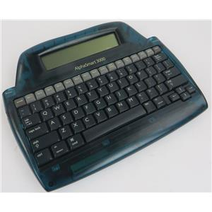 Vintage AlphaSmart 3000 Portable Word Processor W/ Rechargeable Battery -WORKING