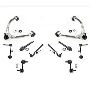 "10 Pcs Kit Upper Arms Tie Rods Links for Lexus LS430 17"" Rim Sport Package 01-06"