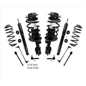Front Complete Strut Shocks & Coil Springs & Chassis Kit For Chevy Malibu 08-10