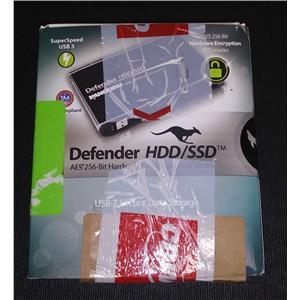 Kanguru KDH3B-2T Defender HDD USB 3.0 AES 256-Bit Hardware Encryption