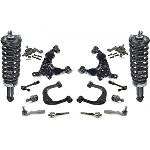 Front Complete Struts Control Arms Ball Joint 16 Pcs for Toyota Sequoia 04-07