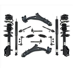 Front Struts Rear Shocks Control Arms 14 Pcs Kit For 11-14 Ford Edge