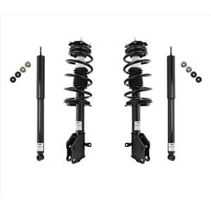Front Complete Struts & Rear Shocks For 11-14 Ford Edge & 11-14 Lincoln MKX