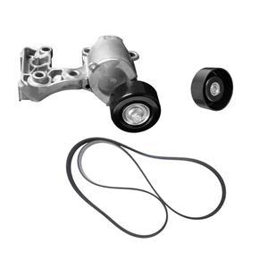 Belt Tensioner & Engine Belt Fits For 05-12 Toyota Avalon REF 16620-31021