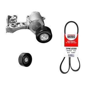 Belt Tensioner & Engine Belt Fits For 13-18 Toyota Avalon REF 16620-31021